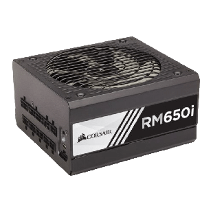 Corsair 650W RMi Series RM650i PSU, Fluid Dynamic Bearing, Fully Modular, 80+ Gold
