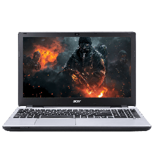 "Refurbished - Acer V3-572/i5-4210U/8GB RAM/1TB HDD/GT 840/DVD-RW/15""/ Windows 10 Pro, B"