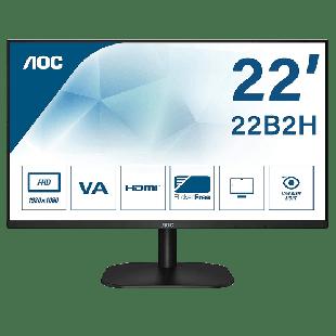 Brand New AOC 22B2H 21.5-inch FHD Widescreen VA LED Monitor-Black (1920x1080/6.5ms/VGA/HDMI)