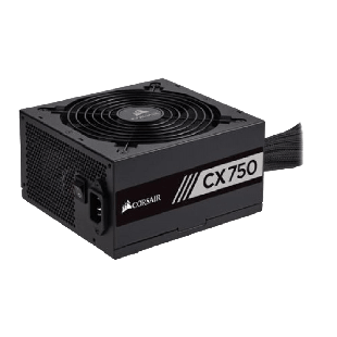 Corsair 750W Builder Series CX750 PSU, Rifle Bearing Fan, Fully Wired, 80+ Bronze