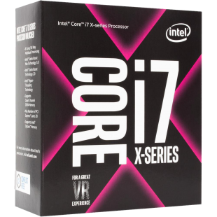 Intel Core i7-7740X CPU, 2066, 4.30GHz (4.5 Turbo), Quad Core, 112W, 8MB Cache, Overclockable, No Graphics, Sky Lake, NO HEATSINK/FAN