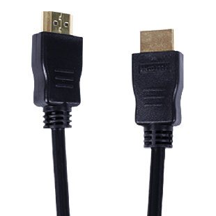 Spire 5-Metri HDMI 2.0 High Speed 4K UHD Support with Gold Plated Connectors Cable - Black