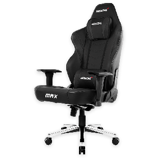 AKRacing Masters Series Max Gaming Chair - Black