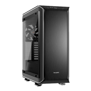 Be Quiet! Dark Base Pro 900 Rev2 Gaming Case, E-ATX, No PSU, PSU Shroud, 3 x SilentWings 3 Fans, LEDs, Wireless Charger, Silver Trim