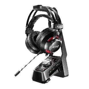 ADATA XPG EMIX H30 Gaming Headset with SOLOX F30 Amp, 53mm Drivers, Virtual 7.1.