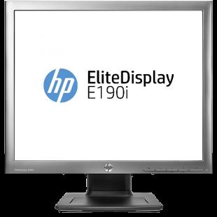 Refurbished HP EliteDisplay E190i /LED Backlit / 19-Inch/ 1280 x 1024/ LED/ VGA,DVI,DP/ 5:4/ Black/ A
