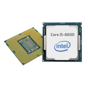 Intel Core i5-8600 CPU, 1151, 3.1 GHz (4.3 Turbo), 6-Core, 65W, 14nm, 9MB Cache, UHD GFX, Coffee Lake
