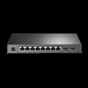 TP-Link (T1500G-8T) 8-Port JetStream Gigabit Smart Switch, Web-based GUI, VLAN
