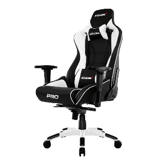AKRacing Masters Series Pro Gaming Chair - Black & White