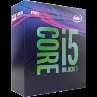 Intel Core I5-9600K CPU, 1151, 3.7 GHz (4.6 Turbo), 6-Core, 95W, 14nm, 9MB, Overclockable, NO HEATSINK/FAN, Coffee Lake