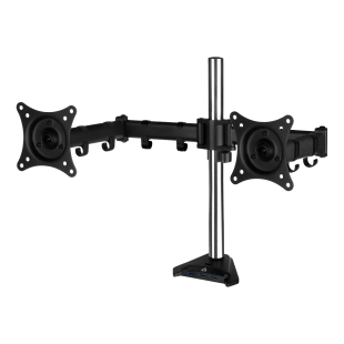 Arctic Z2 Pro (Gen3) Dual Monitor Arm with 4-Port USB 3.0 Hub - Black
