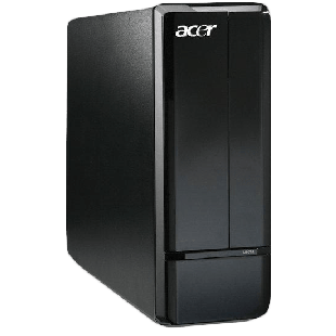 Refurbished Acer AX3900/i3-530/3GB Ram/500GB HDD/DVD-RW/Windows 10 Pro , C