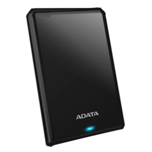 "ADATA 1TB HV620S Slim External Hard Drive, 2.5"", USB 3.1, 11.5mm Thick, Black"