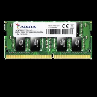 ADATA Premier 16GB, DDR4, 2666MHz (PC4-21300), CL19, SODIMM Memory, 1024x8