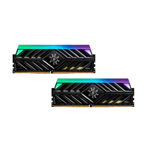 ADATA XPG Spectrix D41 RGB LED 16GB (2 x 8GB), DDR4, 3000MHz (PC4-24000) CL16, XMP 2.0, DIMM Memory