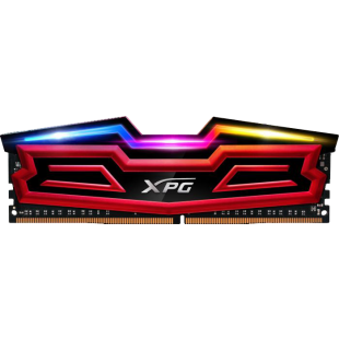 ADATA XPG Spectrix D40 RGB LED 32GB Kit (2 x 16GB), DDR4, 3200MHz (PC4-25600), CL16, XMP 2.0, DIMM Memory