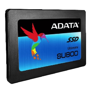 "ADATA 512GB Ultimate SU800 SSD, 2.5"", SATA3, 7mm (2.5mm Spacer), 3D NAND, R/W 560/520 MB/s"