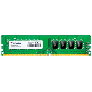 ADATA Premier, 4GB, DDR4, 2400MHz (PC4-19200), CL17, DIMM Memory, 512x8