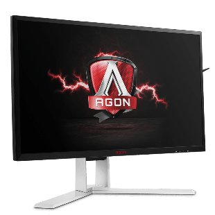 Brand New AOC AGON AG241QG 23.8-inch Widescreen TN LED Multimedia Monitor G-Sync-Black/Red (2560x1440/1ms/HDMI/DP/USB)