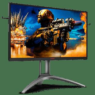 Brand New AOC AG273QZ 27-inch Widescreen TN LED Multimedia Monitor-Black/Silver (2560x1440/0.5ms/DP/2xHDMI)