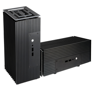 Akasa Turing Fanless NUC Case for 8th Gen Intel NUC Boards, Aluminium, Position Vertically/Horizontally