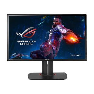 "Asus 24"" ROG Swift LED Gaming Monitor (PG248Q), 1920 x 1080, 1ms, HDMI, DP, 180Hz, G-SYNC, Lighting Effects, VESA"