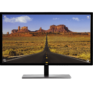 Brand new AOC Q3279VWFD8 31.5-inch Widescreen IPS LED Monitor-Black (2560x1440/5ms/VGA/HDMI/DP/DVI)