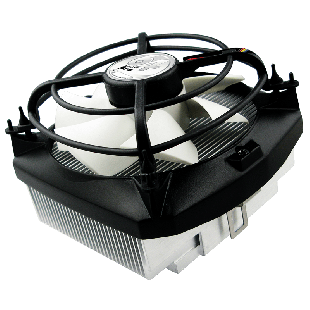 Arctic Alpine 64 Pro Heatsink & Fan, AMD Sockets, Fluid Dynamic Bearing - Black & White