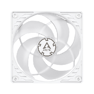 Arctic P12 12CM Pressure Optimised PWM Case Fan Fluid Dynamic - White & Transparent