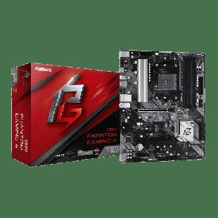 Asrock B550 PHANTOM GAMING 4, AMD B550, AM4, ATX, 4 DDR4, HDMI, XFire, PCIe4, M.2