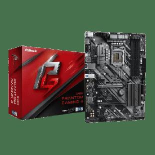 Asrock Z490 PHANTOM GAMING 4, Intel Z490, 1200, ATX, 4 DDR4, XFire, HDMI, M.2