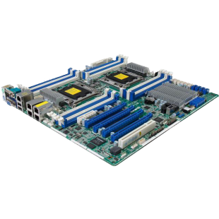 Asrock Rack EP2C602-4L/D16 Server Board, Intel C602, 2011, SSI EEB, Quad GB LAN, IPMI LAN, Serial Port