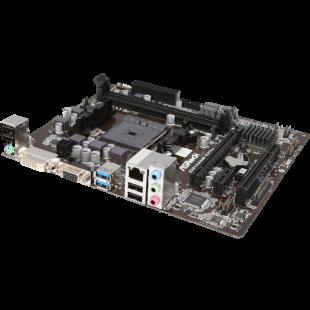 Asrock FM2A68M-HD+, AMD A68H, FM2+, Micro ATX, HDMI, USB3, RAID, 95W CPU Support