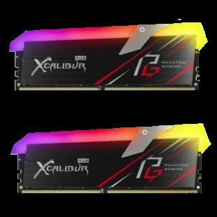 Asrock T-FORCE XCALIBUR Phantom RGB LED 16GB Kit (2 x 8GB), DDR4, 3600MHz (PC4-28800), CL18, XMP 2.0, DIMM Memory
