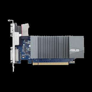 Asus GT710, 2GB DDR5, PCIe2, VGA, DVI, HDMI, 954MHz Clock, Silent, Low Profile (No Bracket)