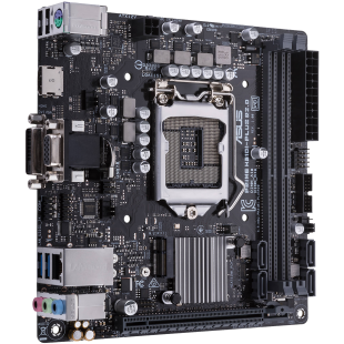 Asus PRIME H310I-PLUS R2.0, Intel H310, 1151, Mini ITX, DDR4, VGA, DVI, HDMI, M.2