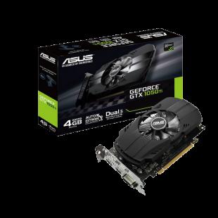 Asus Phoenix GTX1050 Ti, 4GB DDR5, PCIe3, DVI, HDMI, DP, Compact