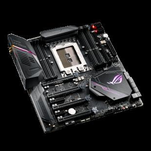 Asus ROG ZENITH EXTREME, AMD X399, TR4, EATX, 8 DDR4, XFire/SLI, Wi-Fi, 10G LAN Card, RGB Lighting