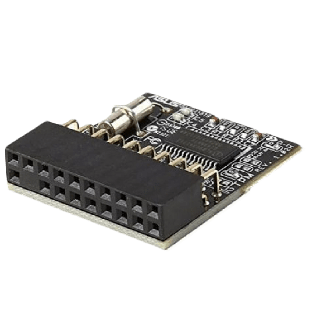 Asus (TPM-L R2.0) TPM Module, 20-1 TPM Header, Securely Stores Keys, Data, Passwords & Digital Certificates