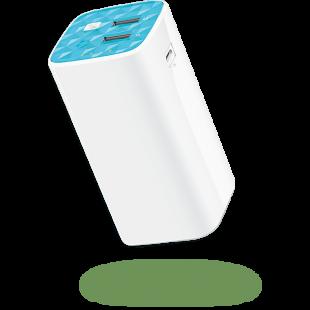 TP-LINK (TL-PB10400) 10400mAh Power Bank, Dual 5V USB, Flashlight