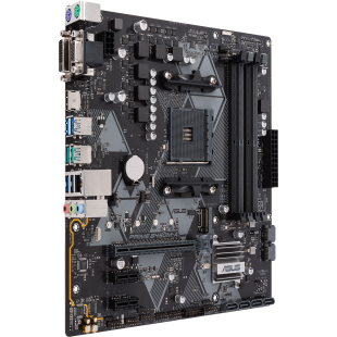 Asus PRIME B450M-A/CSM - Corporate Stable Model, AMD B450, AM4, Micro ATX, 4 DDR4, VGA, DVI, HDMI, M.2