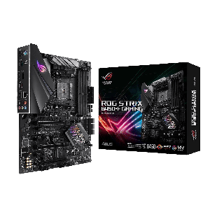 Asus ROG STRIX B450-F GAMING, AMD B450, AM4, ATX, 4 DDR4, XFire, HDMI, DP, M.2, RGB Lighting