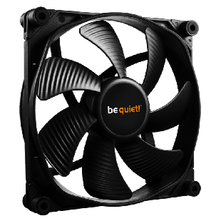 Be Quiet! (BL071) Silent Wings 3 PWM High Speed Case Fan, 14CM, Fluid Dynamic - Black