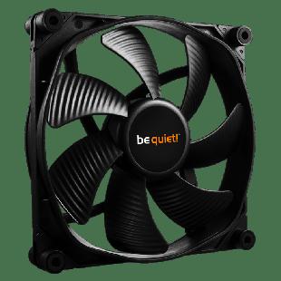Be Quiet! BL060 Silent Wings 2 8CM Case Fan, Fluid Dynamic Bearing, Screwless, Silent  - Black