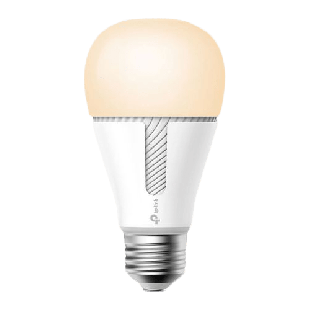 TP-Link (KL60) Kasa Wi-Fi LED Smart Light Bulb, Warm Amber, Dimmable, App/Voice Control, Screw Fitting