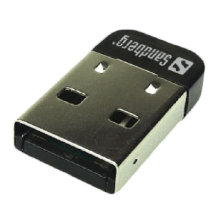 Sandberg (133-81) USB Nano Bluetooth 4.0 Adapter, 25M Range, 5 Year Warranty
