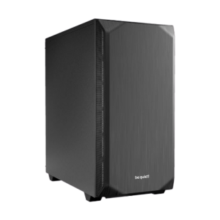 Be Quiet! Pure Base 500 Gaming Case, ATX, No PSU, 2 x Pure Wings 2 Fans, PSU Shroud, Black