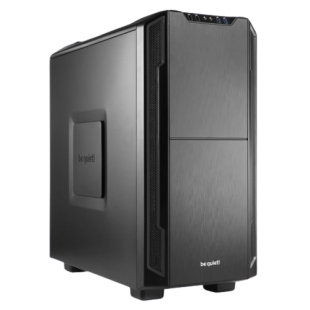 Be Quiet! Silent Base 600 Gaming Case, ATX, No PSU, Tool-less, 2 x Pure Wings 2 Fans, Black *OPEN BOX*