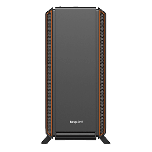 Be Quiet! Silent Base 801 Gaming Case with Window, E-ATX, 3 x Pure Wings 2 Fans, PSU Shroud, Orange Trim