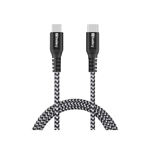 Spire Survivor USB Type-C to Type-C Cable, Braided, 1 Metre, 5 Year Warranty